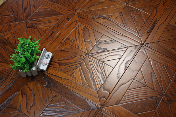 SPH008 榆木 圣保罗定制拼花地板 健康地板