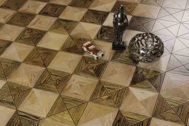 SPH016 刺槐 柞木 圣保罗定制拼花地板 健康地板