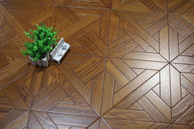 SPH020 柞木 圣保罗定制拼花地板 健康地板