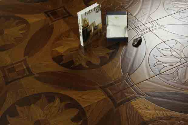 SPH048 沙比利 柞木 圣保罗定制拼花地板 健康地板