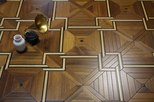 SPH050 酸枝 柚木 白枫 圣保罗定制拼花地板 健康地板