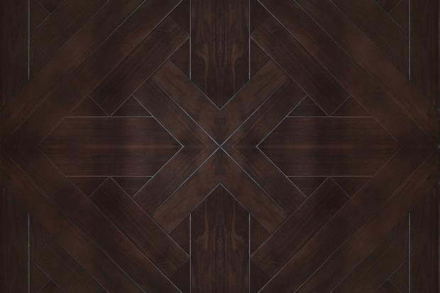 SPH051 黑胡桃 圣保罗定制拼花地板 健康地板