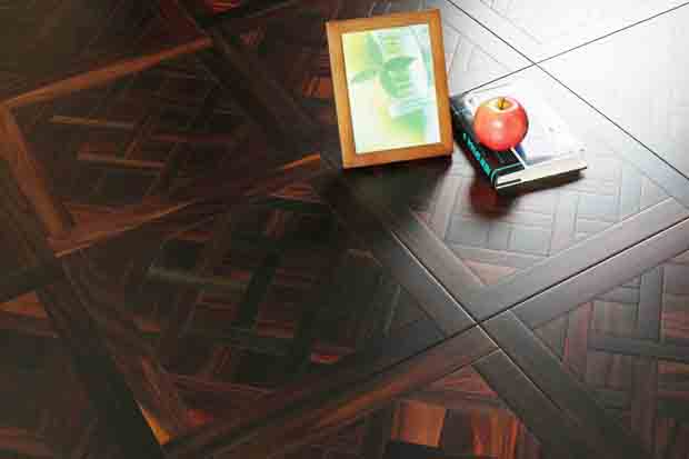 SPH074 酸枝 圣保罗定制拼花地板 健康地板