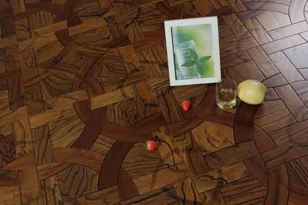 SPH090 沙比利 榆木 圣保罗定制拼花地板 健康地板