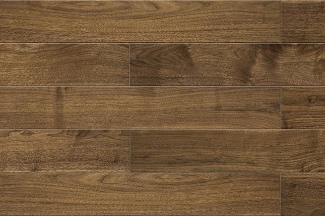 新三层黑胡桃浅色黑胡桃  圣保罗三层实木  健康地板